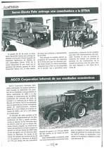 SAME Deutz-Fahr entrega una cosechadora a la ETSIA