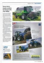 Deutz-Fahr's simple combine for farmers with 250-300ha