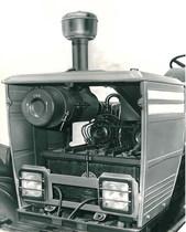 Trattore modello DRAGO - Particolare