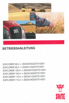 EXPLORER 90.4 ->ZKDAW30200TS10001 - EXPLORER 90.4 ->ZKDAV10200TS10001 - EXPLORER 105.4 ->ZKDAW70200TS10001 - EXPLORER 105.4 ->ZKDAV50200TS10001 - EXPLORER 115.4 ->ZKDAX10200TS10001 - EXPLORER 115.4 ->ZKDAV90200TS10001 - Betriebsanleitung