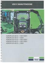 AGROPLUS 320-330-410-420-430 S - Libretto Uso & Manutenzione