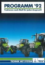 Programm'92 Traktoren nach Maß für jeden Anspruch!