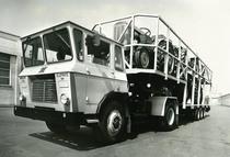 Samecar Elefante TS/A 4x4 con biscarca trasporto trattori SAME