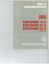 EXPLORER 70 C -80 C - 90 C ERGOMATIC - Libretto uso & manutenzione