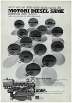 Motori Diesel Same distribuiti dall'ADIM