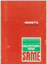 SIRENETTA - Libretti uso & manutenzione