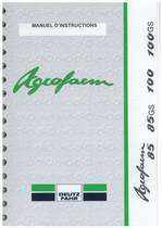 AGROFARM 85- AGROFARM 85 GS - AGROFARM 100 - AGROFARM 100 GS - Utilisation et entretien