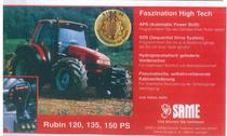 Faszination High Tech - RUBIN 120, 135, 150 PS