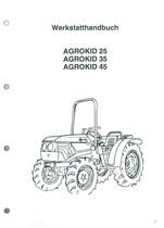 AGROKID 25-35-45 - Werkstatthandbuch