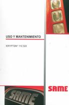 KRIPTON³ 110 SIX - Uso y mantenimiento