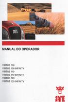 VIRTUS 100 - VIRTUS INFINITY 100 - VIRTUS 110 - VIRTUS INFINITY 110 - VIRTUS 120 - VIRTUS INFINITY 120 - Manual do operador