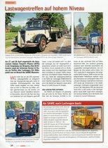 Lastwagentreffen auf hohem Niveau / Une rencontre de camions d'excellent niveau
