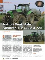 Trattori Deutz-Fahr Agrotron TTV 630 E X 720