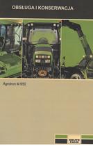 AGROTRON M 650 - Obsluga i konserwacja