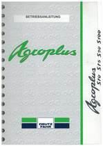 AGROPLUS S 70-75-90-100 - Betriebsanleitung