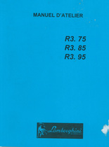 R3.75 - R3.85 - R3.95 - Manuel d'atelier