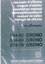 CRONO 554.50 - 564.60 - 574.70 - Werkstatthandbuch