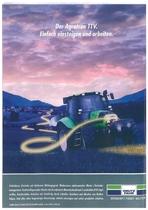Der Agrotron TTV. Einfach einsteigen und arbeiten