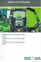 AGROPLUS 310 F ECOLINE COMPACT - AGROPLUS 315 F ECOLINE COMPACT - AGROPLUS 320 F ECOLINE COMPACT - Manual do operador