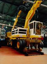 Motore ADIM per caricatore completo di ragno con carrello ferroviario