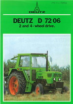 D 7206 2 and 4 wheel drive