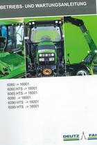 6060 ->16001 - 6060 HTS ->16001 - 6065 HTS ->16001 - 6090 ->16001 - 6090 HTS ->16001 - 6095 HTS ->16001 - Betriebs- und Wartungsanleitung