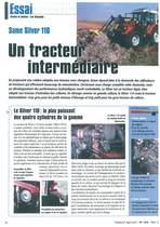 Un tracteur intemédiaire