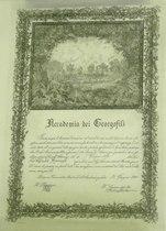 Accademia dei Georgofili - Nomina di Accademico a G. Hampel