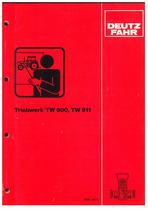 TW 900 - TW 911 - Werkstatthandbuch