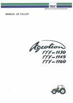 AGROTRON TTV-1130-1145-1160 - Manual de taller