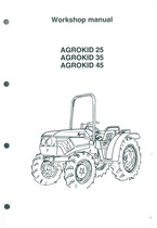 AGROKID 25-35-45 - Workshop manual