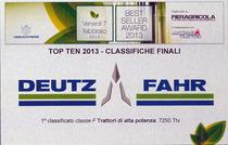 Best Seller Award 2013 - Top ten 2013