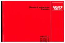 D 68 07-72 07-78 07 C - Utilisation et Entretien