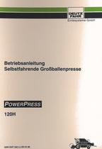POWERPRESS 120 H - Betriebsanleitung