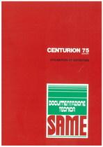 CENTURION 75 EXPORT - Utilisation et entretien