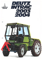 DEUTZ INTRAC 2003 - 2004