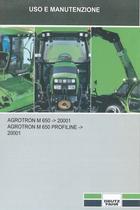 AGROTRON M 650 ->20001 - AGROTRON M 650 PROFILINE ->20001 - Uso e manutenzione