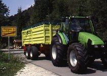 [Deutz-Fahr] Agrotron - Transport / Agrotron prima serie con rimorchio