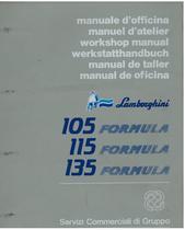 105 - 115 - 135 FORMULA - Manuale d'Officina