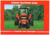 Gamme Tracteurs Same