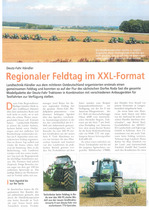 Regionaler Feldtag im XXL-Format