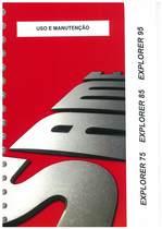 EXPLORER 75 - 85 - 95 - Uso e manutençao