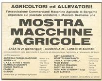 Mostra macchine agricole