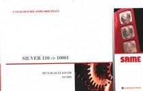 SILVER 110 ->10001 - Catalogo ricambi originali