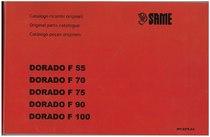 DORADO F 55-70-75-90-100 - Catalogo Parti di Ricambio / Spare parts catalogue / Lista de repuestos