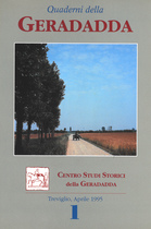 Quaderni della Geradadda - Centro Studi Storici della Geradadda - Volume 1, Banca di Credito Cooperativo di Treviglio e della Geradadda, 1995
