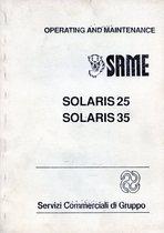 SOLARIS 25-35 - Operating and maintenance
