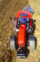 [SAME] trattore Rubin 200 al lavoro con aratro