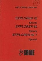 EXPLORER 70/80/90T SPECIAL VERSIONE PONTE 1.5 - Libretto uso & manutenzione