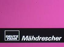 Deutz-Fahr Mähdrescher